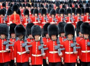 Over 1,600 Officers and Soldiers were on parade in the traditional uniforms of the Household Cavalry, Royal Horse Artillery, and Foot Guards. Many more work behind the scenes to ensure all goes smoothly.